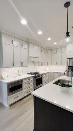 Kitchen Island Remodel Ideas, Kitchen Remodel, Home Decor Kitchen, Home Kitchens, Space Kitchen, Kitchen Styling, Kitchen Storage, Kitchen Pantry, Modern Kitchen Design