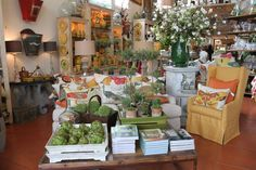 I never miss visiting this lovely shop in St. Helena whenever I visit the Napa Valley - Napa Vintage Home