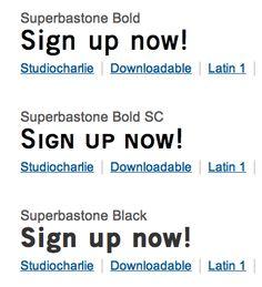 Superbastone Bold / Black