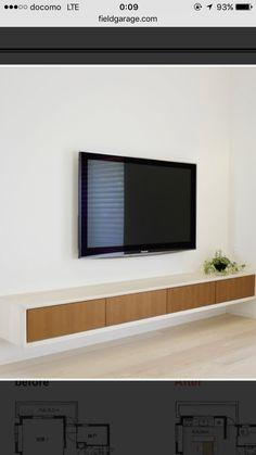 テレビ壁掛けイメージ