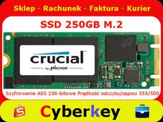 SSD 250GB CRUCIAL MX200 M.2 2260DS