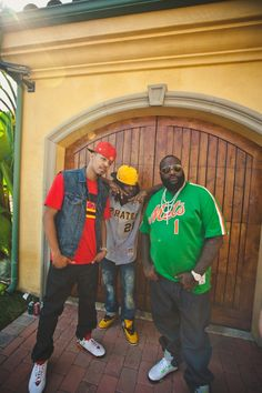 Wale n Ross  with throwback !!