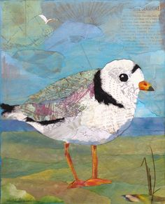 """torn paper paintings 