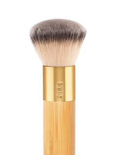 A revolutionary foundation brush that is not only supremely soft, versatile and durable for use, but also made from of sustainably harvested bamboo.