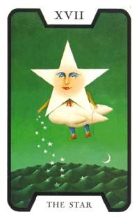 Star from the Witches Tarot, by Fergus Hall, created for the 007 movie Live and Let Die. Cards Diy, Tarot Card Decks, Tarot Cards, Strength Tarot, Star Tarot, Tarot Major Arcana, Queen Of Spades, Tarot Card Meanings, Oracle Cards