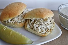 Published in Lake Wedowee Life: Sandwich Recipes>> Alabama White Sauce and Pulled BBQ Chicken Sliders