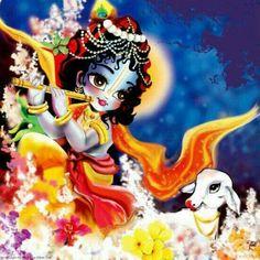 Kanha Little Krishna, Cute Krishna, Jai Shree Krishna, Krishna Radha, Krishna Painting, Madhubani Painting, Lord Krishna Images, Laddu Gopal, Krishna Wallpaper