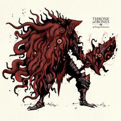 Fantasy Concept Art, Fantasy Character Design, Dark Fantasy Art, Character Design Inspiration, Character Art, Monster Concept Art, Fantasy Monster, Monster Art, Creature Concept Art
