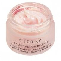 BY TERRY Baume de Rose....it smells glorious and it makes me feel fancy and moisturized