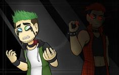 """To Chicaenllamas - (Dark and Anti design) yeah to say """"goodbye"""" temporally, and i love make sad things, sorry xD Fear to disappear - Danti fanart Jacksepticeye Fan Art, Markiplier, Pewdiepie, Cartoon Junkie, Jaiden Animations, Darkiplier And Antisepticeye, Walking Dead Season 4, Danti, Jack And Mark"""