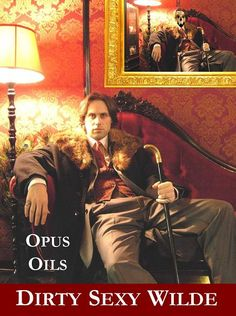 "OPUS OILS' DIRTY SEXY WILDE ~ ""a super-suave combo of the galbanum and the mandarin with tobacco, with the flowers peeping up later before settling into the animal notes and the hay-like coumarin. On me it's not so dirty, but decidedly sexy in a your-skin-but-better kind of way: as elegant as a Savile Row Suit with a bit of retro-smokiness"""