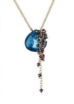 Amali Jewelry Midnight Cascade Necklace