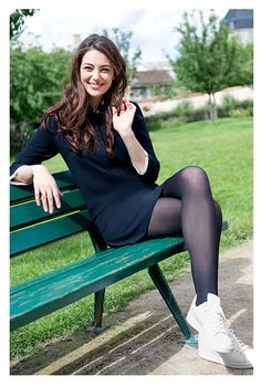 Search for Fitness at SHEIN. Discover the latest women's, men's and kids' fashion online Pantyhose Fashion, Pantyhose Outfits, Fashion Tights, Black Pantyhose, Tights Outfit, Black Tights, Nylons, Lovely Legs, Black Stockings