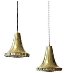 Pair of Ceiling Lamps by Hans-Agne Jakobsson   From a unique collection of antique and modern chandeliers and pendants at https://www.1stdibs.com/furniture/lighting/chandeliers-pendant-lights/