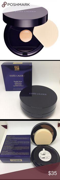 ESTÉE LAUDER Double Wear Makeup Compact ESTÉE LAUDER Double Wear Makeup To Go Liquid Compact .40 Fl.oz. Liquid/12 ml  Color- 2C3 Fresco Estee Lauder Makeup Foundation