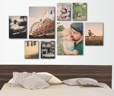 http://www.woodsnap.com/  Wood Prints - photo collage