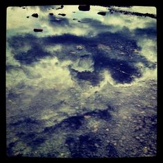 #reflection #water #sky #clouds