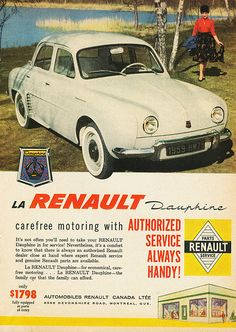 Renault Dauphine. In the UK, 1969