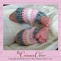 Crochet Leg Warmers Baby.  I so need to learn to crochet.  Love these.