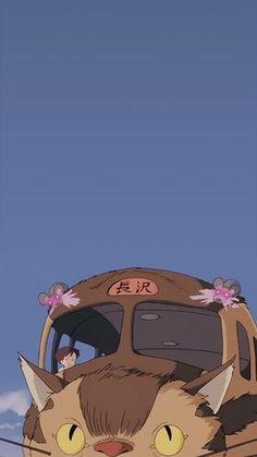 Studio ghibli,my neighbor totoro,hayao miyazaki - Studio Ghibli - Wallpaper Art Studio Ghibli, Studio Ghibli Movies, Studio Art, Studio Ghibli Quotes, Hayao Miyazaki, Movie Wallpapers, Animes Wallpapers, Cute Wallpapers, Anime Kunst