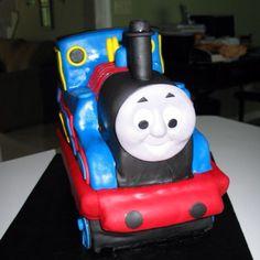 Thomas the train cake By Jennifer Borchert's Cakes Jenniferncbt@yahoo.com
