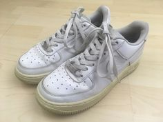 NIKE Shoes Kids Youth Sz 5Y US 314192-117 Air Force 1 AF1 Low White Sneakers   fashion  clothing  shoes  accessories  kidsclothingshoesaccs  unisexshoes  ... a1e0771ec
