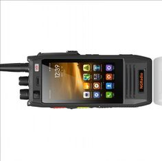 """""""New Radio"""" - Dual band ham radio with built in Android cell phone and HamNet WiFi too. Being developed in Europe. Also has a general HF/6m receiver capability."""