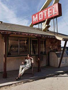 Desert Motel Editorials heidi lundgren