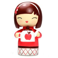 Sister Momiji are handpainted resin message dolls. Turn them upside down...inside every one there's a tiny folded card for your own secret message. Spread the love.All dolls�are approx 8cm (3in) tall.