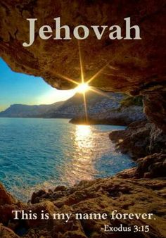 Jehovah This is my name forever Bible Scriptures, Bible Quotes, Bible Prayers, Jehovah Paradise, Jehovah Names, Jehovah S Witnesses, Jehovah Witness, Jw Humor, Spiritual Encouragement