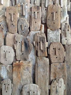 "lustik: "" Driftwood sculptures by Marc Bourlier. Lustik: twitter | pinterest | etsy """