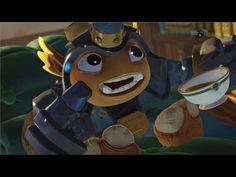 Skylanders Short Cuts: Fryno. I'm very into these guys. This is what excites me about animating for games. The stories aren't epics. They're succinct, fun character pieces that remind me of the cartoons I loved as a kid.