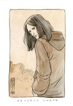 Snape by Marta