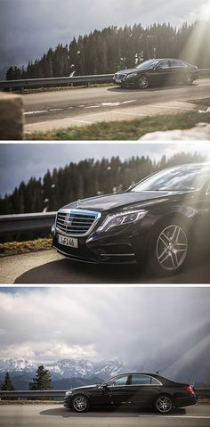 Perfect for a luxurious getaway: The Mercedes-Benz S 500 e. Photos by Patrick Pross #MBsocialcar [Mercedes-Benz S 500 e   combined fuel consumption 2.8 l/100km   combined CO₂ emissions: 65 g/km   Power consumption weighted: 13.5 kWh/100 km   http://mb4.me/efficiency_statement]