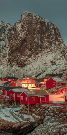 Lofoten Islands, Norway It looks like a little christmas village Places Around The World, The Places Youll Go, Travel Around The World, Places To See, Places To Travel, Around The Worlds, Lofoten, Dream Vacations, Vacation Spots