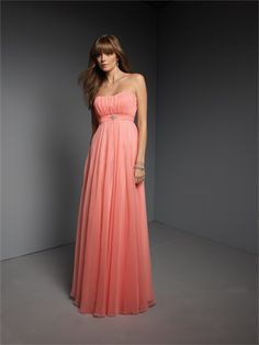 Love for Bridesmaids. thinking something like this in apple red. flows and flatters