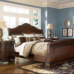 North S Sleigh Bedroom Set   54 Best New Home Furniture Images On Pinterest Bedroom Sets