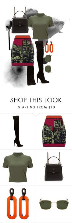 """""""Untitled #146"""" by angel534 on Polyvore featuring M Missoni, Miss Selfridge and Fendi"""