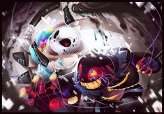ErrorSans vs. InkSans! by WalkingMelonsAAA on DeviantArt