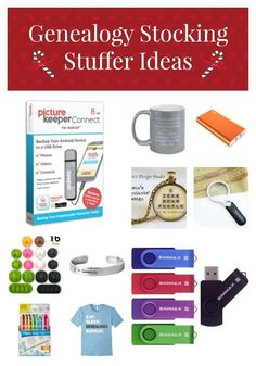 Enjoy these Genealogy stocking stuffer gift ideas for the genealogist and family historian on your Christmas list. Find lots of options! Christmas Gift Guide, Christmas Gifts For Her, Merry Christmas, Christmas Ideas, Christmas Clothes, Holiday Ideas, Christmas Crafts, Christmas History, Elephant Birthday