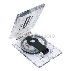 MX - Pocket Baseplate Compass Map Orienteering Camping Scale Ruler