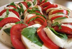 Not a fan of tomatos but this looks good!  Caprese with Ina