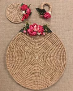 Artesanato com Corda de Sisal: 29 Ideias para Decorar sua Casa Jute Crafts, Diy And Crafts, Arts And Crafts, Handmade Crafts, Flower Bouqet, Deco Champetre, Diy Y Manualidades, Sisal, Diy Gifts