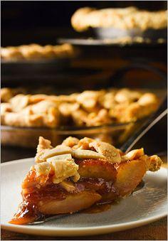 Recipe: Pear-pomegranate pie.  Photo: Francesco Tonelli for The New York Times