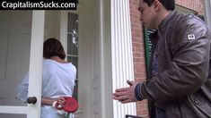 Reporter approaches Lois Lerner to ask her about the missing emails where she targeted Conservatives and Christian Groups and she tries busting into neighbor's home to evade questions.