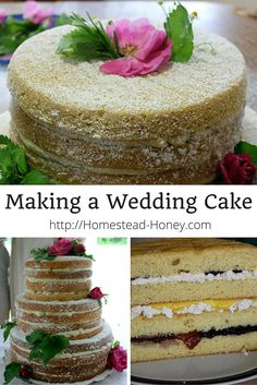 Part four of a series in which we chronicle the making of an organic, rustic, naked wedding cake for 200 guests.