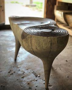 Art Furniture, Unique Furniture, Wooden Furniture, Furniture Design, Deco Boheme, Furniture Inspiration, Wood Sculpture, Wood Design, Chair Design