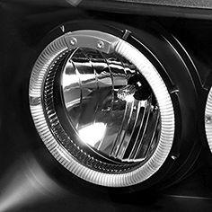 Spec-D Tuning 2LHP-GKEE93JM-TM Jeep Grand Cherokee Black Halo Projector Headlights: Amazon.com.mx: Automotriz y Motocicletas