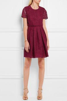 Burberry London   Corded cotton-blend lace dress   NET-A-PORTER.COM