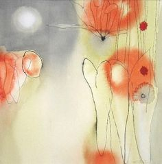 Marsha Boston, Mariposa Lily 2005, Watercolor and ink on paper